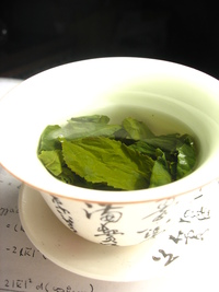 Green Tea- healthy like acupuncture