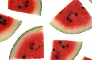 Watermelon for summer heat